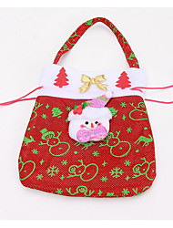 Christmas gift bag printed Christmas gift bag