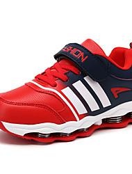 Para Meninos-Tênis-Conforto-Rasteiro-Vermelho Azul Real-Courino-Casual Para Esporte
