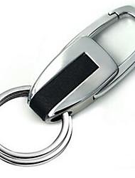 Etal Key Buckle Creative Small Gift Custom Male Business Leather Car Key Chain