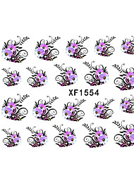 Watermark Nail Stickers Nail Stickers XF1554