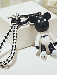 niedlichen Cartoon-Bären-Puppe Keychain kreative Autoanhänger