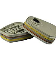 orgânico vapor caixa de filtragem de gás ácido inorgânico anti 2 / bag