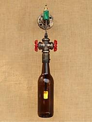 ac 220v-240v 6w e27 bgb003 nouvelle paroi de la bouteille créative mur lampe lumière moderne nordique