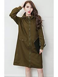 305 # (Sign) 2016 new Harajuku style long coat large size women
