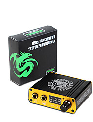 Dragonhawk New Professional Digital Tattoo Power Box Mini Tattoo Power Supply for Tattoo Machine