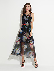 MAXLINDY  Women's Vintage Going out / Party/ Sophisticated Boho Dress