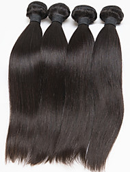 Brazilian Straight Hair Extension 4 Pcs/Lot Brazilian Virgin Hair Weave Bundles Free Shipping Hair Extension