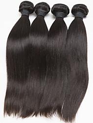 Brazilian Straight Hair Extension 4 Pcs/Lot Brazilian Virgin Hair Weave Bundles Free Shipping Hair Extension