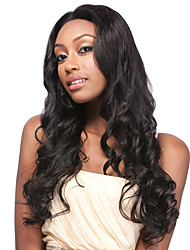 Brazilian Virgin Human Hair Fashion Body Wave Lace Front Wig With Baby Hair