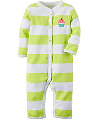 Baby Casual/Daily Striped Down & Cotton PaddedCotton Spring / Fall-Blue / Green / Purple / Gray