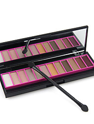 12 Eyeshadow Palette Shimmer Eyeshadow palette Cream Normal Daily Makeup No.2