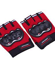 Half Knight Gloves (Red)