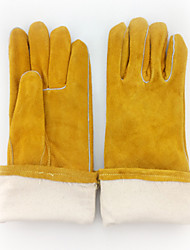 High Temperature Resistant Wear-Resistant Welding Gloves  (yellow)