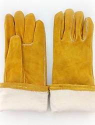 luvas resistentes a altas temperaturas resistentes ao desgaste de soldagem (amarelo)