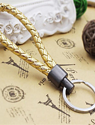 Creative Small Gift Leather Rope Key Chain