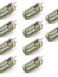 2 G6.35 Luces LED de Doble Pin T 48 SMD 3014 260 lm Blanco Cálido / Blanco Fresco Decorativa AC 12 V 10 piezas