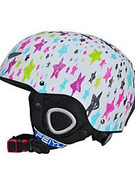 Универсальные шлем М: 55-58CM / S: 52-55CM Спортивные CE EN 1077 Снежные виды спорта / Зимние виды спорта / Лыжи / Сноубординг