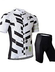 Sports Cycling Jersey with Shorts Men's Short SleeveBreathable  Quick Dry  Anatomic Design