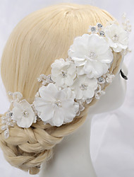 Women's Imitation Pearl Headpiece-Wedding Special Occasion Flowers 1 Piece