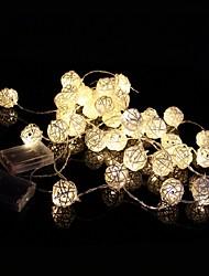4M 20LEDs  LED Rattan Ball String Light Christmas String Light For Decoration
