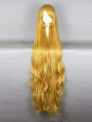 Halloween GOSICK-Victorique De Blois 110CM Long Wavy Yellow High Quality Lolita Fashion Party Cosplay Wigs