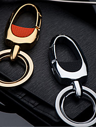 Zhongbang Car Key Chain Men And Women Linked To The Waist Of The Metal Key Chain Pendant