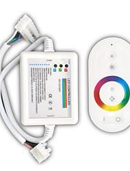z®zdm 216W wireless rf tocar RBG levou controlador tira com receptor (DC 12 ~ 24V) \ n