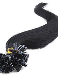 7a melhor virgem u ponta extensões de cabelo humano u-ponta 14-26inch 0,5 g / 100s Strand / lot brazilian extensão do cabelo