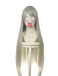 safiruosi morte - flutuante de bambu 14 shiro alma negra peruca cinza prata
