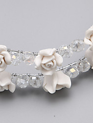 Women/Flower Girl Alloy/Resin Flowers With Wedding/Party Headpiece  (More Colors)