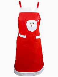 Santa Claus Apron Dinner Kitchen Table Decoration Home Party Decor Xmas Pinafore Party Apron