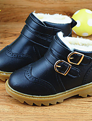 Girl's Boots Others Leatherette Casual Black Yellow Red