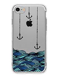 Für Muster Hülle Rückseitenabdeckung Hülle Spaß mit dem Apple Logo Weich TPU AppleiPhone 7 plus / iPhone 7 / iPhone 6s Plus/6 Plus /