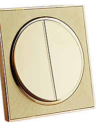 The Champagne Gold Switch Socket Panel