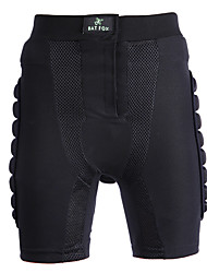 Cycling Shorts Unisex Bike Bottoms Breathable Polyester Classic Exercise & Fitness Cycling/Bike Summer Black