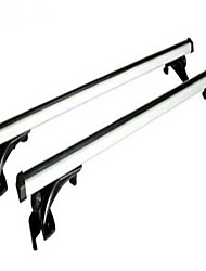 Car Luggage Rack Rails Universal Aluminum Alloy With A Lock Roof Bar Frame Bike Frame