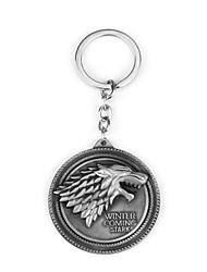 Stark Badge Metal Key Ring Auto Parts