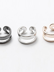 Ring Non Stone Halloween / Wedding / Party / Daily / Casual Jewelry Copper / Silver Plated / Gold Plated Women / Men / CouplesMidi Rings