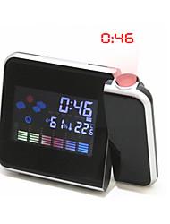 LED Weather Forecast Electronic Clock