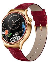 Women's Smart Watch Digital / Genuine Leather Band Red Brand