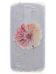 Pour Transparente Motif Coque Coque Arrière Coque Fleur Flexible PUT pour LG LG K10 LG K8 LG K7 LG Nexus 5X LG X Power