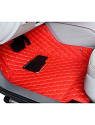 для автомобиля BMW в окружении выделенных целых ковриков