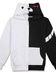 Ternos de Cosplay Inspirado por Dangan Ronpa Monokuma Anime Acessórios de Cosplay Camisa Cinzento Algodão Unissexo