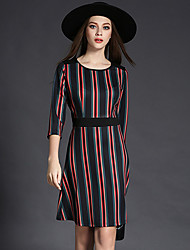 Maxlindy Women's Going out / Party/Cocktail / Holiday Vintage / Street chic Bodycon Dress
