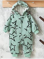 малыш Набор одежды-На каждый день,Геометрический принт,Хлопок,Весна / Осень-Зеленый / Красный