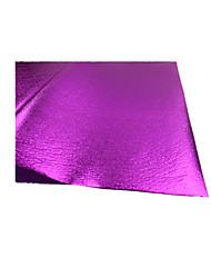 (Nota 20 um pacote de 60 x 60cm cor roxa) piscar folha de embrulho dos desenhos animados diy bouquet