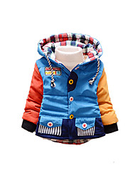 Boy's Casual/Daily Striped Down & Cotton PaddedCotton Winter / Spring / Fall Blue / Red / Yellow