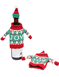 Christmas Ornaments Christmas Wine Bottle Cover