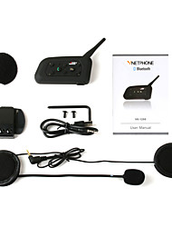Motorcycle helmet ride Bluetooth V6-1200 new walkie-talkie packaging