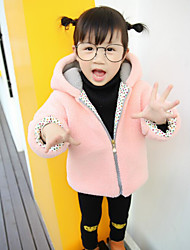 Girl's Casual/Daily Solid Sweater & Cardigan / Suit & BlazerCotton Spring / Fall Pink / Gray